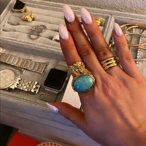 YSL Arty Oval Ring
